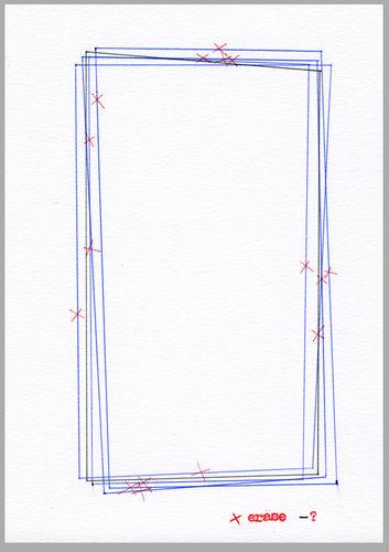 Peder K. Bugge drawing contemporary art