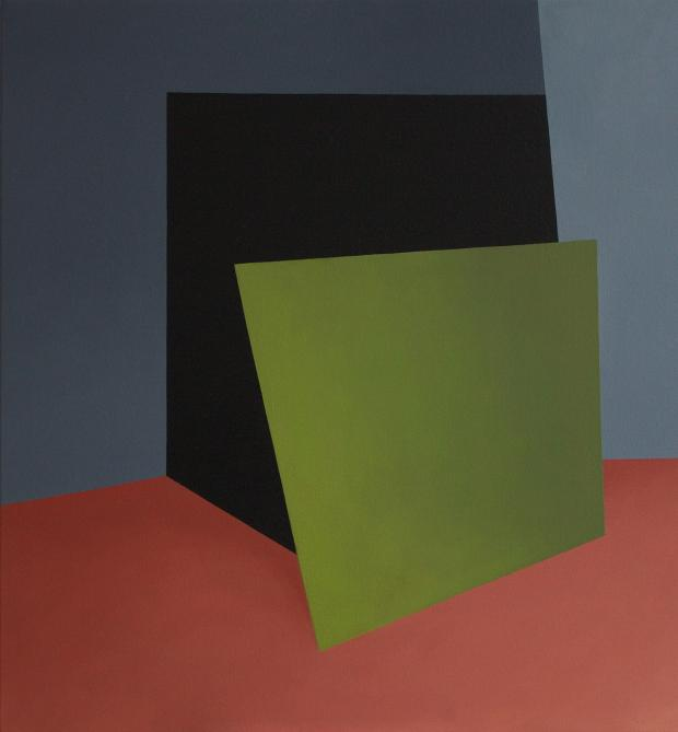 Peder K. Bugge painting canvas contemporary art